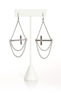 Hanging Cross Earrings | Craft Ideas | Pinterest