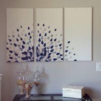 DIY wall art | Canvas Decor | Craft Ideas | Pinterest