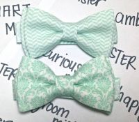 Mint Green Bow Tie -- Mint Green Tie for Boys ...