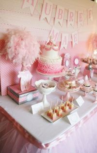 Fancy girl baby shower cake table | Baby Shower Ideas ...
