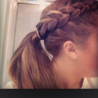 Softball Hair Braids On Pinterest ...
