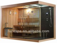 Steam Shower With Finnish Sauna For High End Bathroom ...