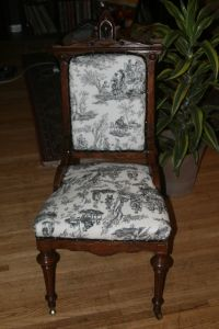 reupholstering antique chairs | For the Home | Pinterest
