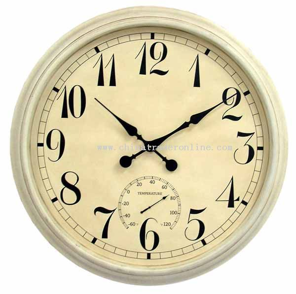 36 inch Metal wall clock from China