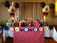 Mickey Mouse theme baby shower | Hayley's baby shower ...