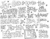 John 3:16 | Free (mostly) Printables | Pinterest