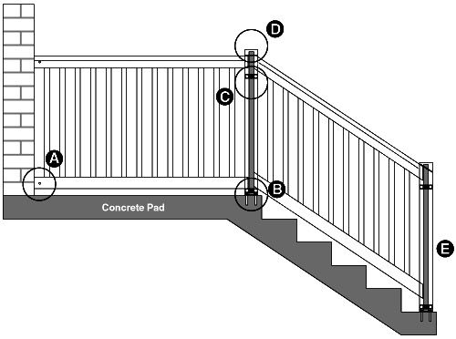 trex deck wiring diagrams