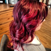 Fun hair color. Wild orchid | My Style | Pinterest