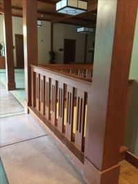 Craftsman style railing | Building project ideas | Pinterest
