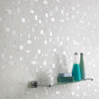 Wallpaper that looks like tile. | Home Sweet Home | Pinterest