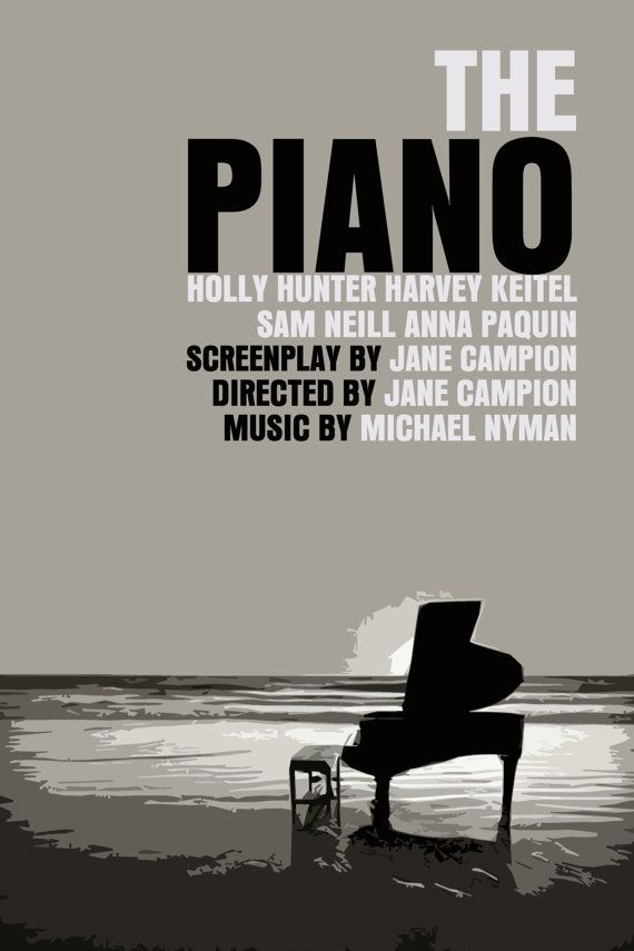 Tv Board Plexiglas The Piano Movie Poster. | Anything Movies | Pinterest