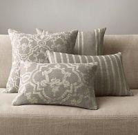 Pillows & Throws   Restoration Hardware   Livingroom ...