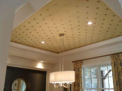 Scenery Wallpaper: Wallpaper On Ceiling