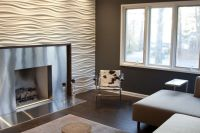 Gypsum Textured wall panels | For the Home | Pinterest