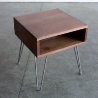 Hairpin Leg Side Table