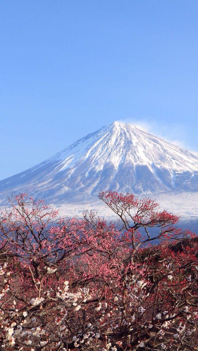 Mount Fuji Wallpaper Iphone Mount Fuji Japan Paesaggi Surreali Pinterest