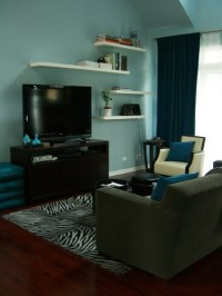 Living Room  Floating Shelves | Living room/den ideas ...