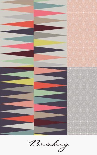 Ikea Brakig wallpaper, available Jan 31 | GRAPHIC I love | Pinterest