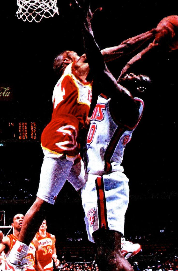 Atlanta Hawks Wallpaper Hd Spud Webb Wallpaper Www Imgkid Com The Image Kid Has It