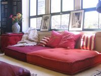 floor pillow couch / lounge | Home | Pinterest