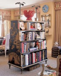 Double sided bookcase | Bookcases/Shelving | Pinterest