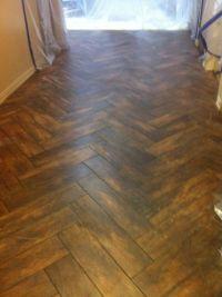 ceramic tile planks that look like wood | Rental Rehab ...