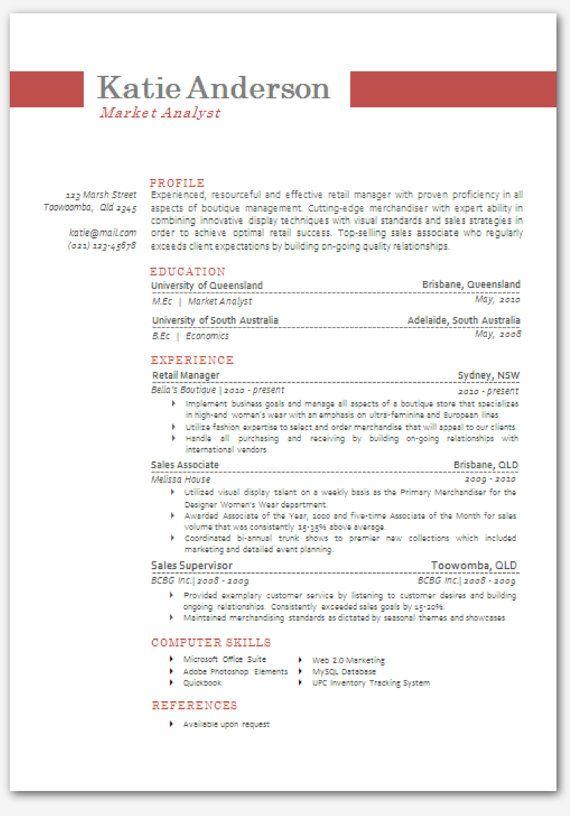 resume template word modern modern resume templates