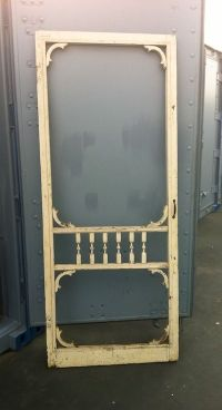 Vintage Screen Door