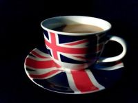 British tea cup set   Red, White & Blue Tea Party!   Pinterest
