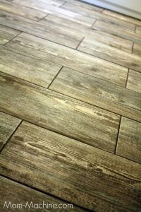 Faux Wood Porcelain Tile | Tile & Trim | Pinterest