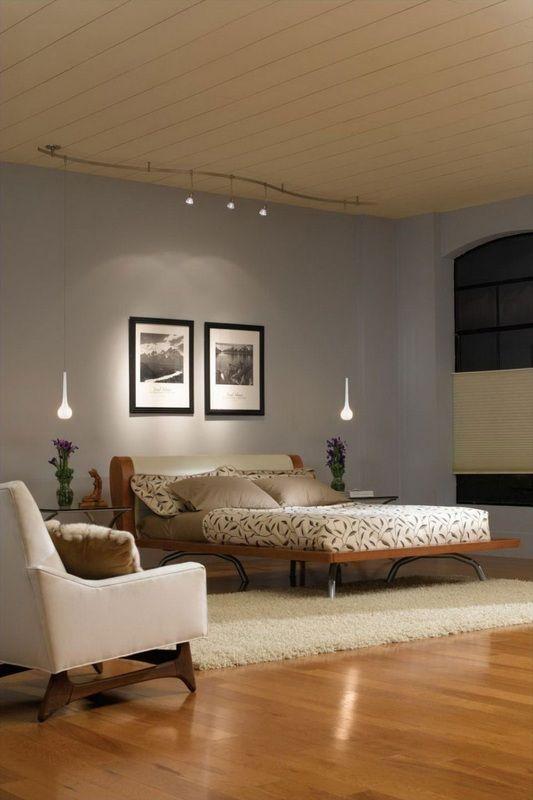 Bedroom track lighting decor bedroom pinterest