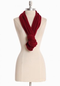 way to tie an infinity scarf...duh! | Fashion | Pinterest