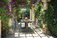 Beginner learn: Tuscan style backyard landscaping pictures ...
