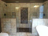 Master bathroom double shower | For the home. | Pinterest