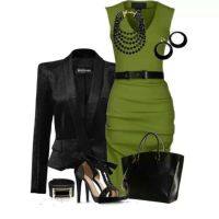Olive green after 5 dress. #YesPlease | Clothes | Pinterest