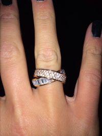 Rose gold Michael Kors ring | Bling | Pinterest