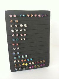 Post Earring Holder - Jewelry Organizer