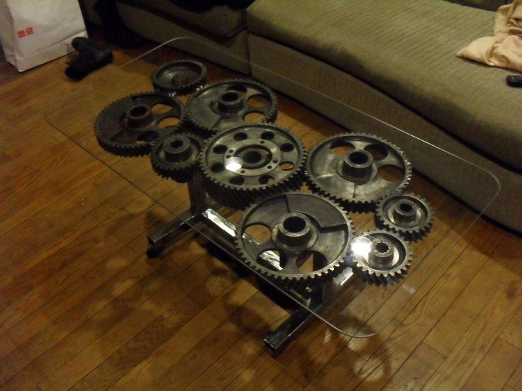 Steampunk Gear Coffee Table