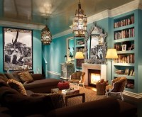 brown and turquoise living room | Amvel Events | Pinterest