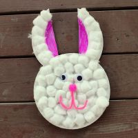 Easter Craft - Paper Plate Bunny | Kid Blogger Network ...