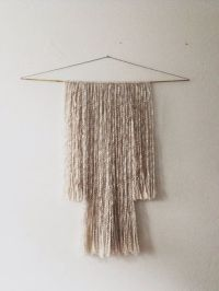 Southwest Wool Fiber Wall Art Wall Hanging