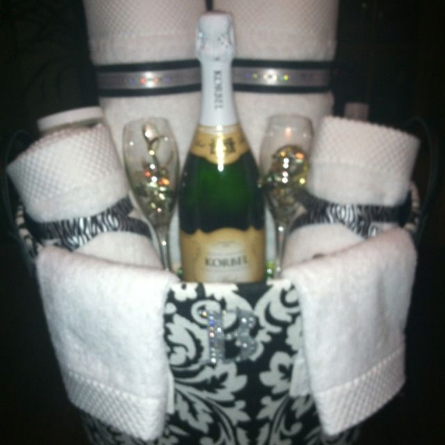 Bridal Shower gift, basket