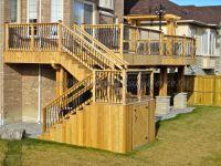 deck storage under the stairs   Backyard   Pinterest