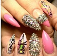 Sharp Nail Design | Joy Studio Design Gallery - Best Design