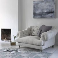 Grey arm chair, cozy reading chair   HOME   My Cozy Space ...