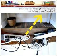 Hide electric cords | For the Home | Pinterest