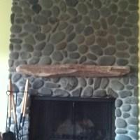 Driftwood fireplace mantel. | beach house wish list ...