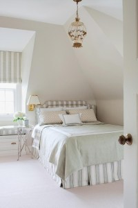 bed against wall | Home Decor | Pinterest