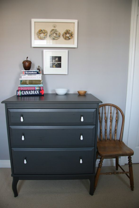 Dark Gray Dresser Dark Gray Furniture - Master Bedroom | Home | Pinterest