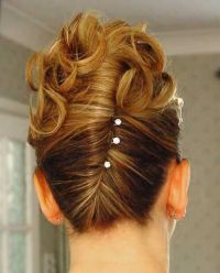 Pin up Wedding Hairstyle | Hair styles, | Pinterest